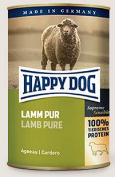 Happy Dog Lamm Pur Single Protein Dose 800g