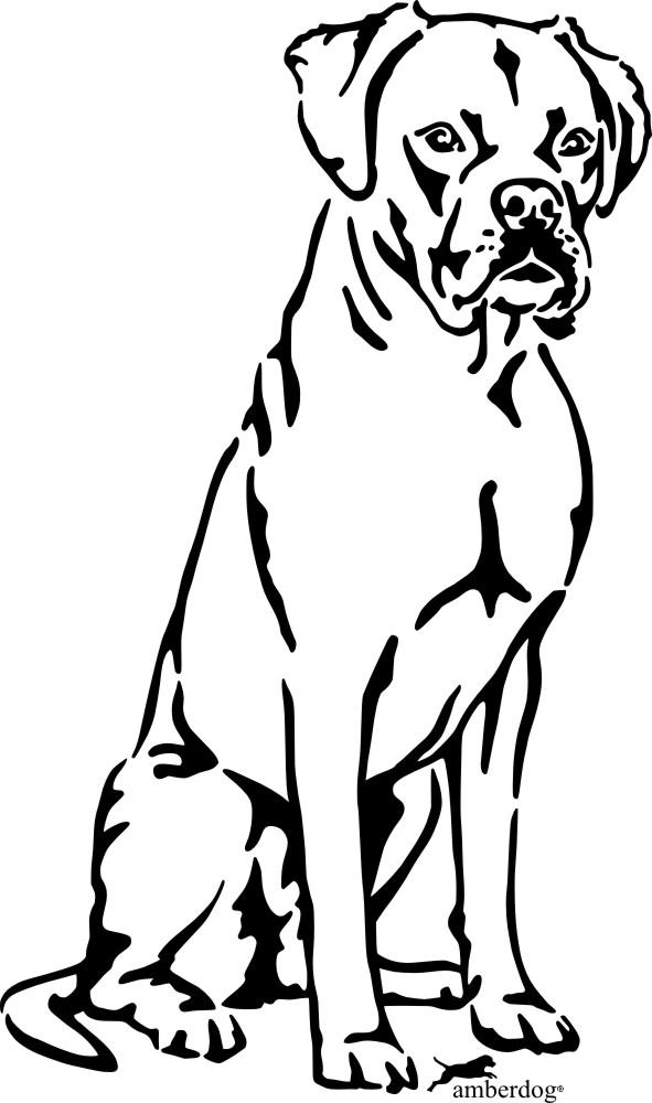 Schön Boxer Hund Malvorlagen Fotos - Framing Malvorlagen ...