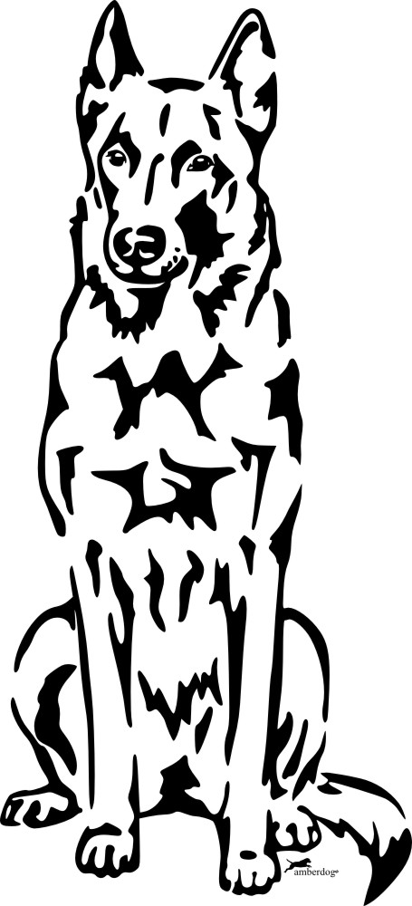Petfoodshop Malinois Sticker
